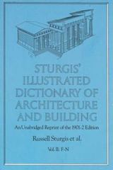 Sturgis' Illustrated Dictionary of Architecture and Building 2nd edition 9780486260266 0486260267
