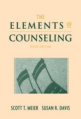 The Elements of Counseling 6th edition 9780495017745 0495017744