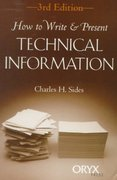 How to Write and Present Technical Information 3rd edition 9781573561334 1573561339