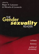 The Gender/Sexuality Reader 1st Edition 9780415910057 0415910056