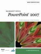 New Perspectives on Microsoft Office PowerPoint 2007, Comprehensive 1st edition 9781423905936 1423905938