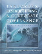 Takeovers, Restructuring, and Corporate Governance 4th edition 9780131407374 0131407376