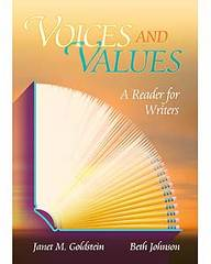 Voices and Values 1st Edition 9780944210093 0944210090