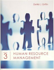 Human Resource Management 3rd edition 9780618794195 0618794190