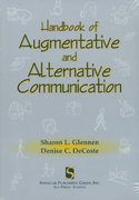 Handbook of Augmentative and Alternative Communication 1st Edition 9781565936843 1565936841
