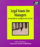 Legal Issues for Managers 0 9781884926495 1884926495