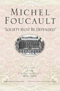 """Society Must Be Defended"" 1st Edition 9780312422660 0312422660"
