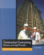 Construction Contracting 2nd Edition 9780130910554 0130910554