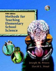 Methods for Teaching Elementary School Science 5th Edition 9780131715998 0131715992