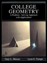 College Geometry 1st edition 9780023854507 0023854502