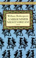 A Midsummer Night's Dream 1st Edition 9780486110196 0486110192