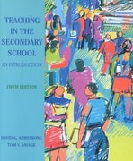 Teaching in the Secondary School 5th edition 9780130287663 0130287660