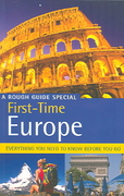 The Rough Guide to First Time Europe 6 6th edition 9781843534075 184353407X