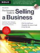 The Complete Guide to Selling a Business 3rd edition 9781413307061 141330706X