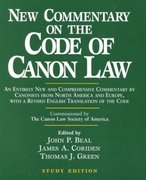 New Commentary on the Code of Canon Law 0 9780809140664 0809140667
