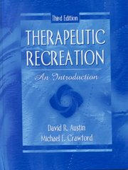 Therapeutic Recreation 3rd edition 9780205328291 0205328296