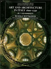 Art and Architecture in Italy, 16001750 6th Edition 9780300079401 0300079400