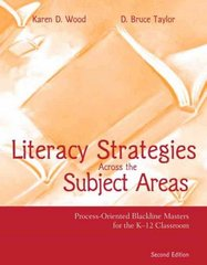 Literacy Strategies Across the Subject Areas 2nd edition 9780205437122 0205437125