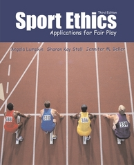 Sport Ethics 3rd Edition 9780072462098 0072462094