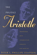 The Politics of Aristotle 1st Edition 9780807899007 0807899003