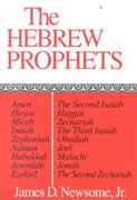 The Hebrew Prophets 1st Edition 9780804201131 0804201137