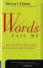 Words Fail Me 1st Edition 9780547546872 0547546874