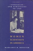 Women Scientists in America 1st Edition 9780801825095 0801825091