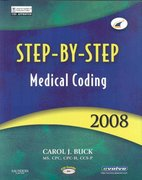 Step-by-Step Medical Coding 2008 Edition 0 9781416045670 1416045678