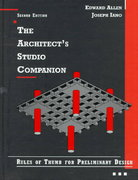 The Architect's Studio Companion 2nd edition 9780471040699 047104069X