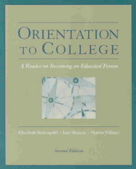 Orientation to College 2nd Edition 9780534599584 0534599583