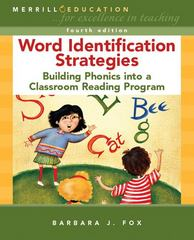 Word Identification Strategies 4th edition 9780131561304 0131561308