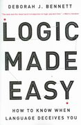 Logic Made Easy 1st Edition 9780393326925 0393326926