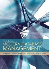 Modern Database Management 9th edition 9780136003915 0136003915
