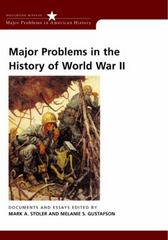 Major Problems in the History of World War II 1st edition 9780618061327 0618061320