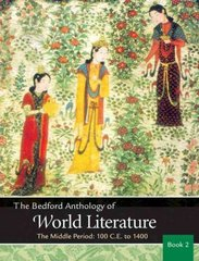 The Bedford Anthology of World Literature Book 2 1st edition 9780312248727 0312248725
