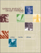 Systems Analysis and Design Methods 6th edition 9780072474176 0072474173