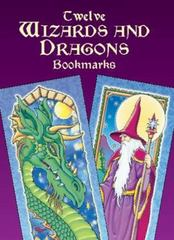 Twelve Wizards and Dragons Bookmarks 0 9780486426402 0486426408