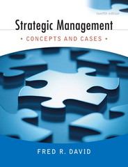 Strategic Management 12th edition 9780136015703 0136015700