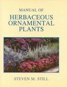 Manual of Herbaceous Ornamental Plants 4th Edition 9780875634333 0875634338