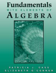Fundamentals with Elements of Algebra 4th Edition 9780759310001 0759310009