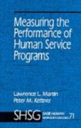Measuring the Performance of Human Service Programs 0 9780803971356 0803971354