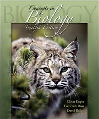 Concepts in Biology 12th edition 9780072986570 0072986573