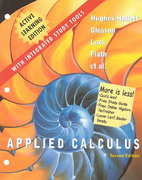 Applied Calculus, 2e, Active Learning Edition 2nd edition 9780471455301 047145530X