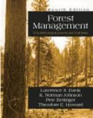 Forest Management 4th Edition 9781577664369 1577664361