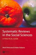 Systematic Reviews in the Social Sciences 1st edition 9781405121101 1405121106