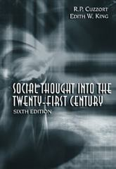 Social Thought Into the 21st Century 6th edition 9780155064027 0155064029