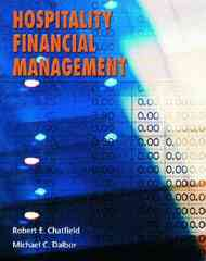 Hospitality Financial Managment 1st edition 9780130482877 0130482870