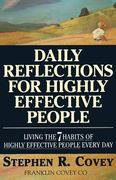 Daily Reflections for Highly Effective People 1st edition 9780671887179 0671887173