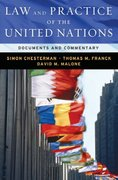 Law and Practice of the United Nations 1st edition 9780195308433 0195308433