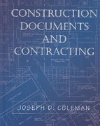 Construction Documents and Contracting 1st Edition 9780130893284 0130893285